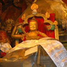 Statue of Jamyang Chöjé